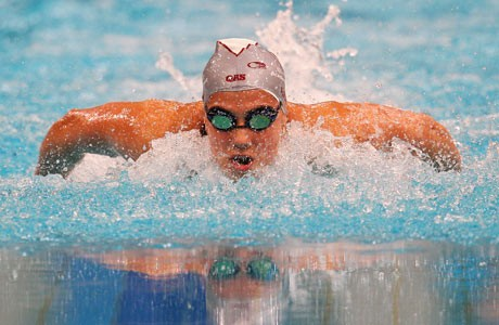 Stephanie Rice out of Olympics limelight