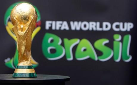 'All in one rhythm' slogan for Brazil World Cup