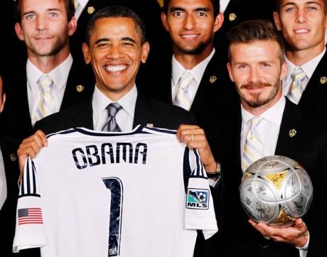 Obama teases Beckham