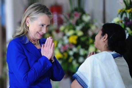 Mamata Banerjee Hillary Clinton