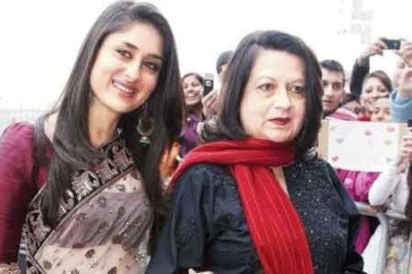 Kareena Kapoor with mother
