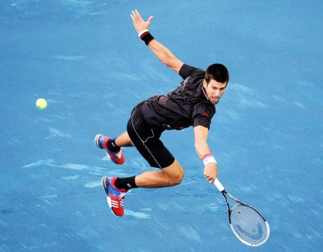 Djokovic angry at Madrid's blue clay court