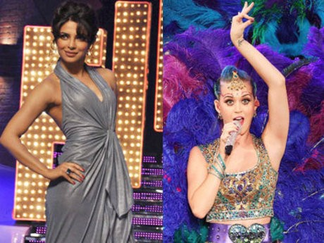 Priyanka Chopra and Katy Perry