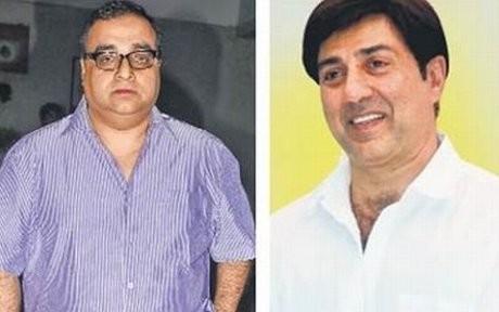 Rajkumar Santoshi and Sunny Deol