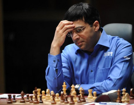Anand draws again: 2-2 now