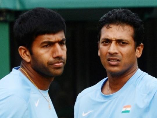 Mahesh Bhupathi and Rohan Bopanna