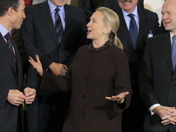 Hillary Clinton Unveils Plan For World Without AIDS