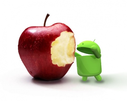Google's Android is Eating Apple's Lunch