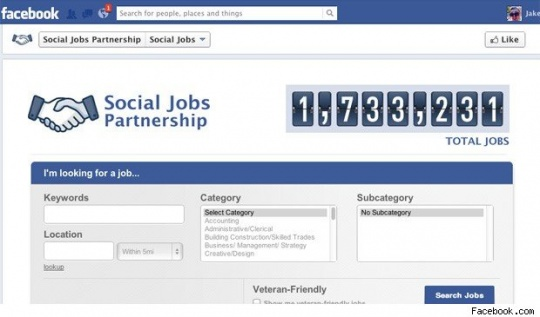 Facebook Launches 'LinkedIn-type' App