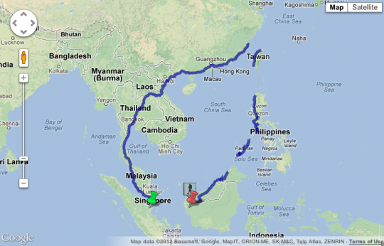 Google Maps Helps in Completing 5,000-Mile Walk