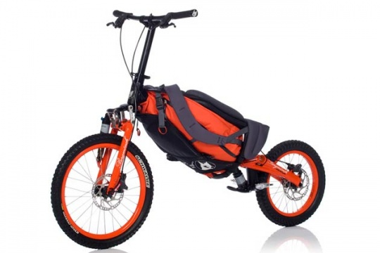 Foldable Scooter Allows you to Glide Down Mountains