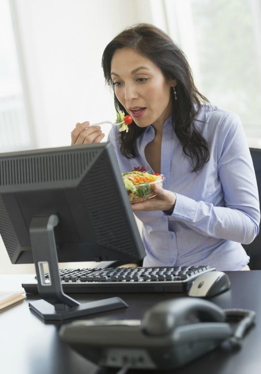 Loud Eaters at Work