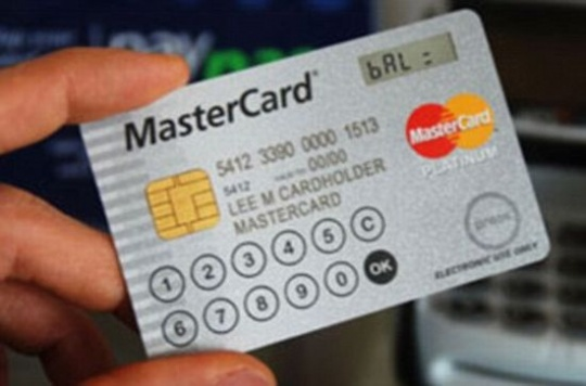 Now, Mastercard With LCD Screen, Built-in Keyboard