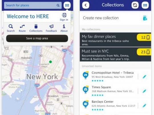 Nokia Releases Maps App for Apple iPhones, iPads
