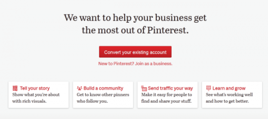 Pinterest Now Supports Official Accounts