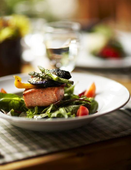 Low-fat salad dressing