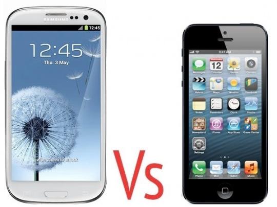 Samsung Galaxy S III Beats iPhone 4S