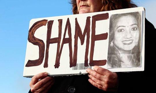 Ireland murdered a pregnant Indian dentist