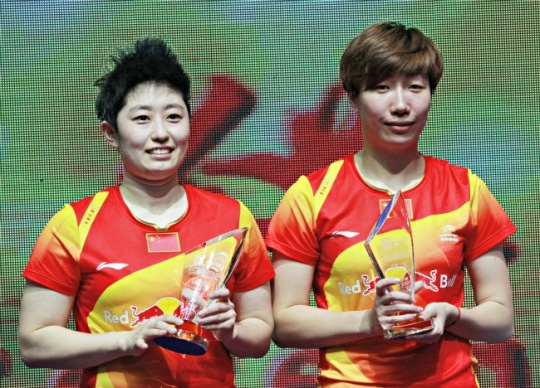 Controversial Chinese women's duo win China Open