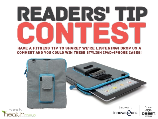 HealthMeUp.com Presents The Readers' Tip Contest