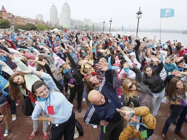 Ukraine To Set World Record For Morning Exercise