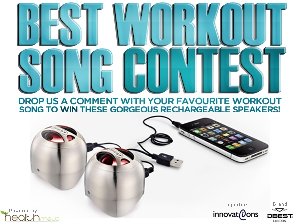 HealthMeUp.com Presents The Best Workout Song Contest!