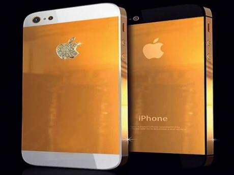 On Sale: 24-carat iPhone 5!