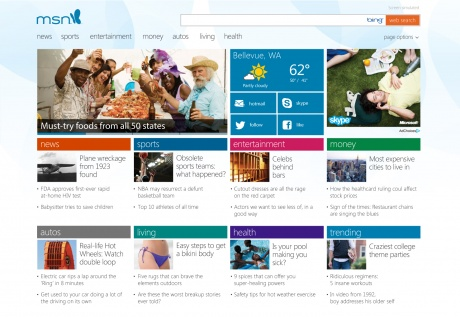 Microsoft Launches New-Look MSN