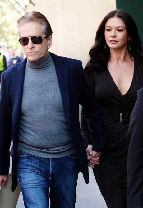 Catherine Zeta Jones and Michael Doughlas