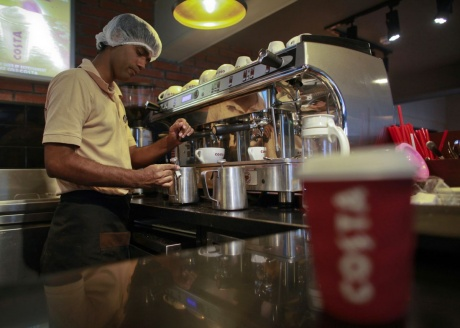 Coffee Threat to Tea in India