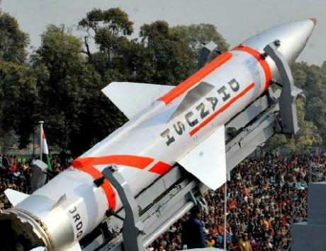 Dhanush missile