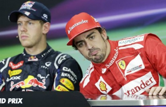 Vettel, Alonso Clash as F1 Returns to India