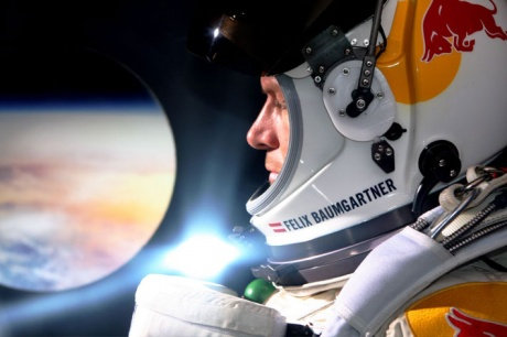 The news is official - Felix Baumgartner Breaks Skydive World Record at 128,000 Feet.