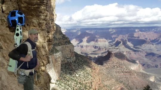 Google Maps Grand Canyon's Hiking Trails