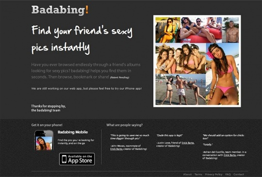 iPhone App Trawls Facebook for 'Sexy Pics' of Friends