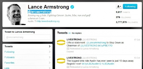 Loss, Disgrace & Darkness for Lance Armstrong