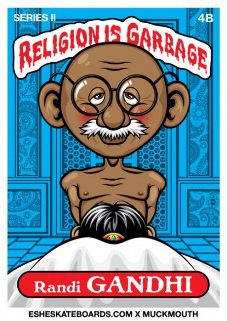 Ganesha & Mahatma Gandhi in Controversial Ads