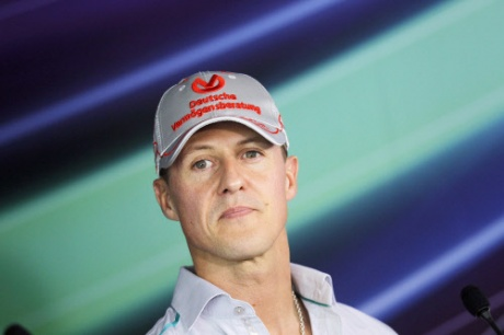 Michael Schumacher to retire from F1 again