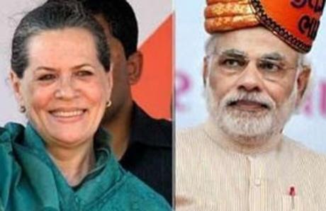 Sonia vs Modi