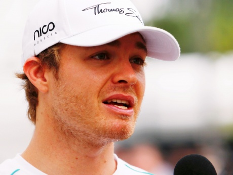 Nico Rosberg 'not worried' about Lewis Hamilton
