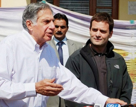 Rahul has opened the door for us: Tata