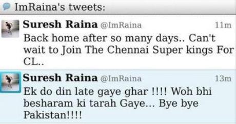 Suresh Raina on Twitter: My Nephew Did It