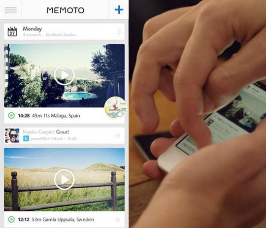 Memoto: The World's Smallest Wearbale Camera