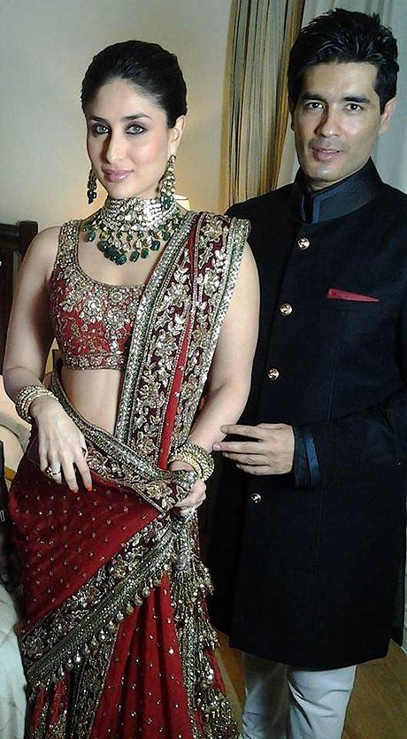 Kareena Kapoor and Manish Malhotra