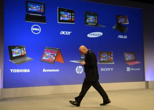 Microsoft Unveils Windows 8, Surface Tablet