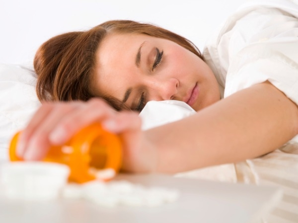 Popping Pills For Sleep May Be Bad For Health