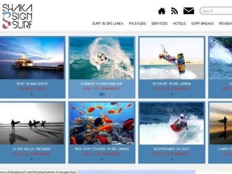 Colombo: Shaka Sign Surf