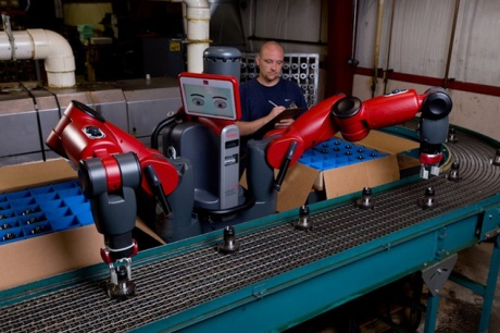 Robot that works alongside humans launched