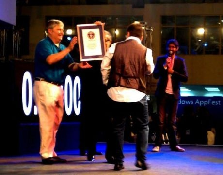 Windows 8 Appfest sets Guinness World Record