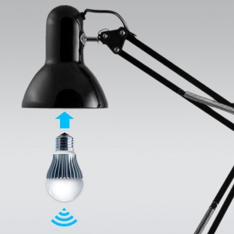 Now, light bulb controlled by smartphone